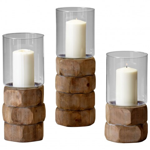 Hex Nut Large Candleholder