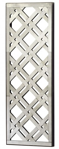 Mirrored Wall Rectangular Decor