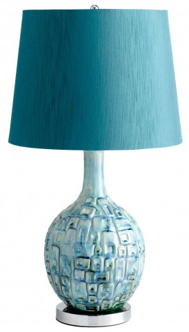 Jordan Teal Table Lamp