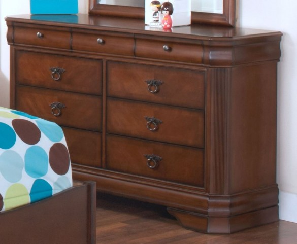 Sheridan Burnished Cherry Youth Dresser
