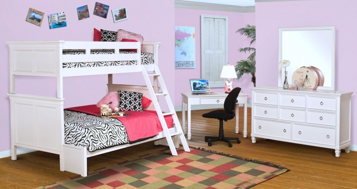 Tamarack White Youth Bunk Bedroom Set