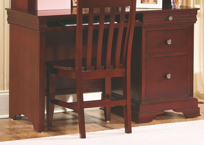 Versaille Bordeaux Desk
