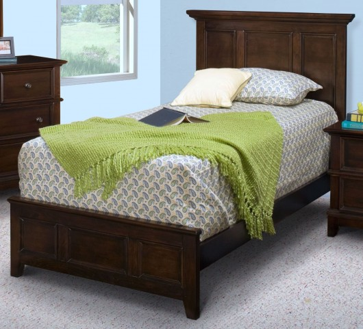 Prescott Sable Full Panel Bed