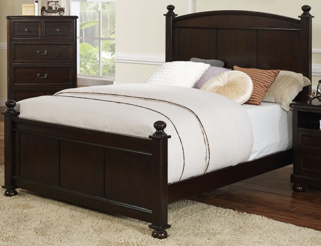 Canyon Ridge African Chestnut Full Poster Bed