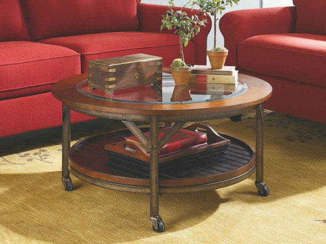 Mercantile Round Occasional Table Set