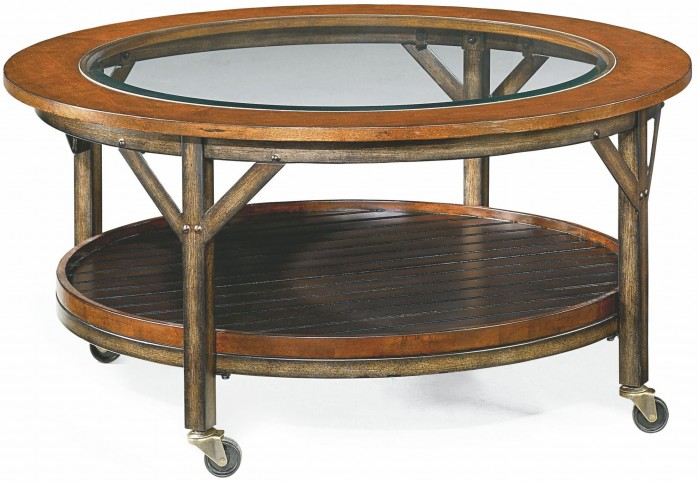 Mercantile Whiskey Round Cocktail Table