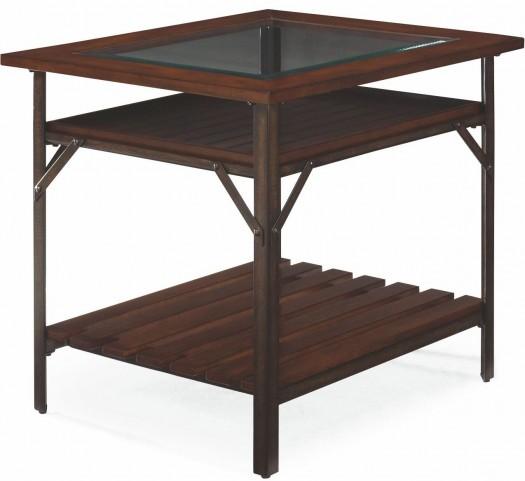 Mercantile Whiskey Rectangular End Table