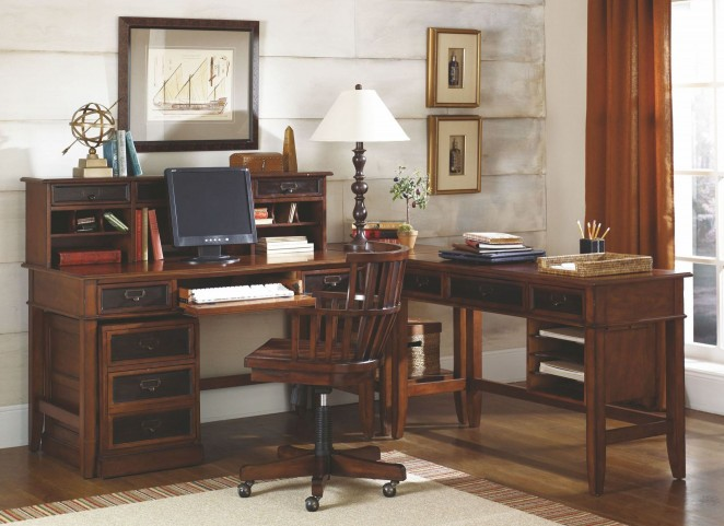 Mercantile Whiskey Home Office Set