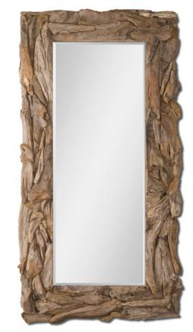Natural Teak Root Mirror