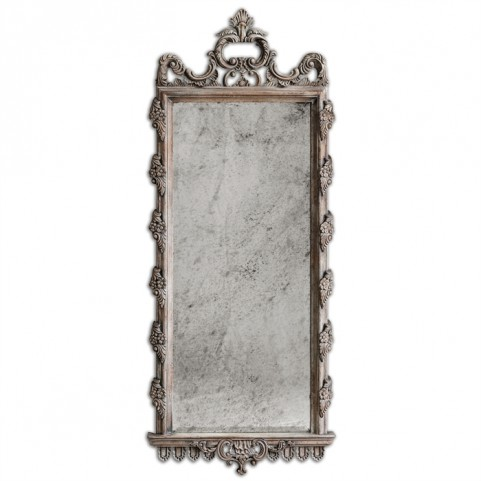 Via Giulia Distressed Long Mirror