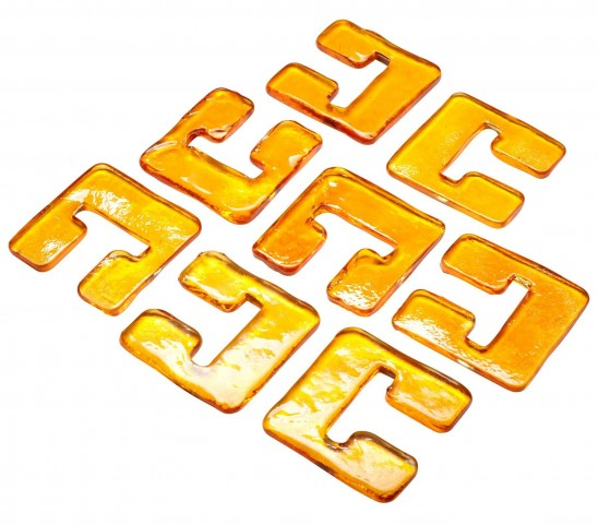 Orange Glass Links