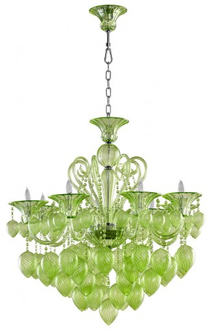 Bella Greens Vetro Chandelier