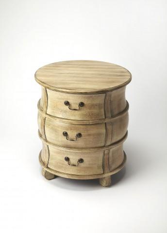 Masterpiece Bentley Driftwood Barrel Table