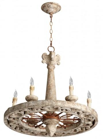 Malouet 6 Light Chandelier