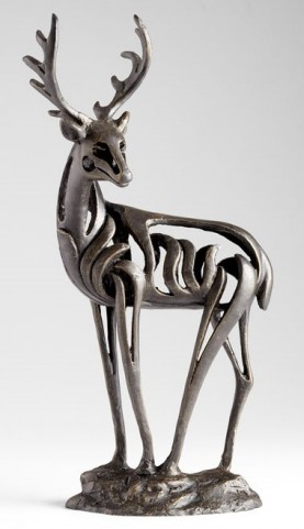 Ouray Deer Sculpture
