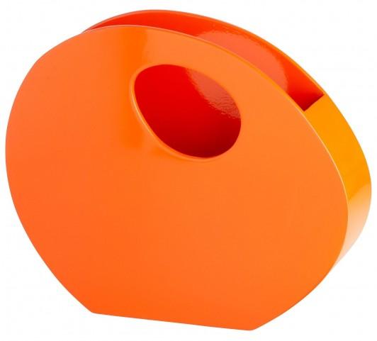 Mulholland Orange Lacquer Container