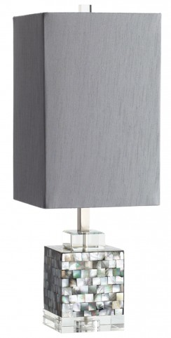 Johor Gray Table Lamp