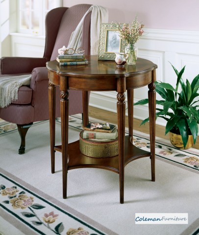 Plantation Cherry 0557024 Accent Table