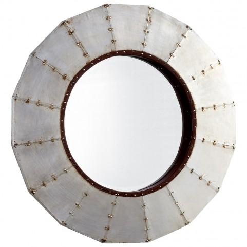 Steel Wheel Mirror