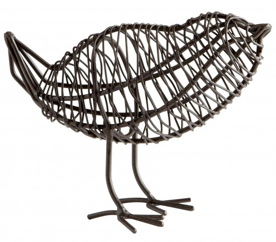 Bird On A Wire Small Sculpture