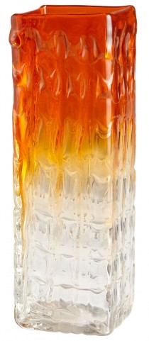 Fire Prism Small Vase