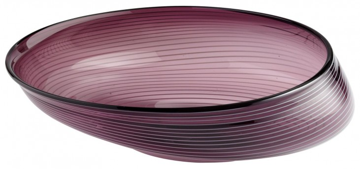 Purple Oyster Small Bowl