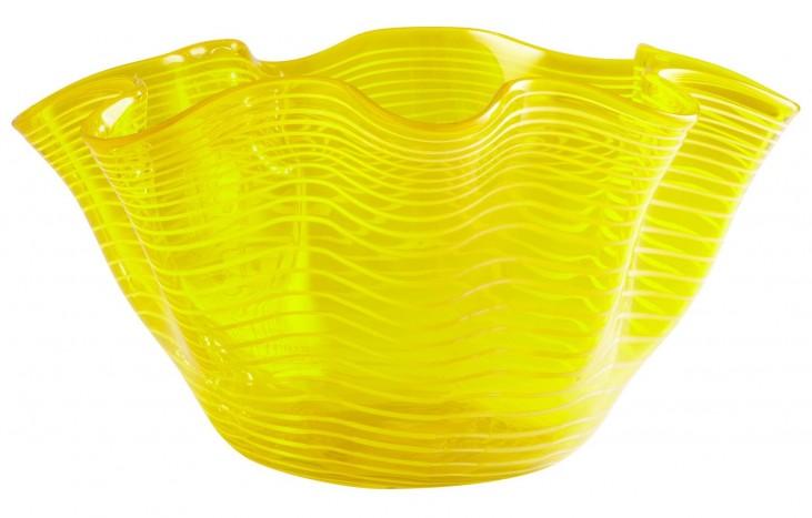 Yellow Scallop Bowl