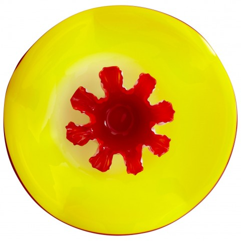 Splash Crimson Plate