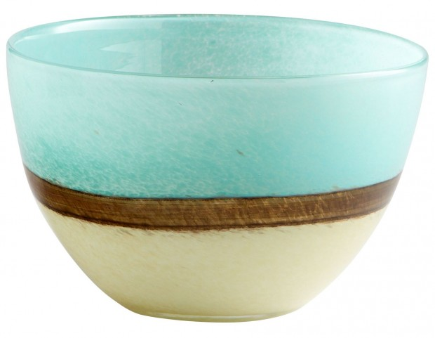 Turquoise Earth Small Vase