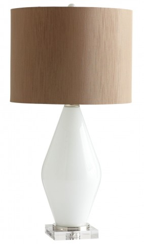 Pearl Teardrop Table Lamp