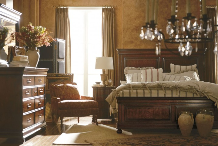 Portfolio Louis Philippe Orleans Panel Bedroom Set