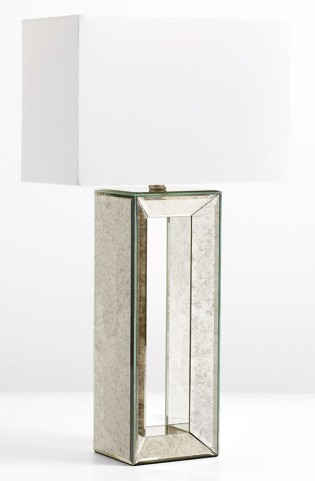 Metro Mirrored Table Lamp