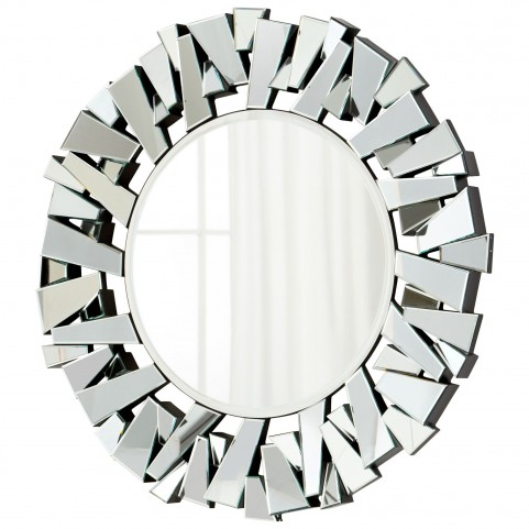 Circle Cityscape Mirror