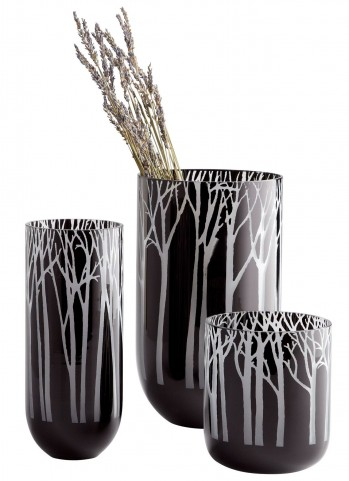 Obsidian Forest Medium Vase
