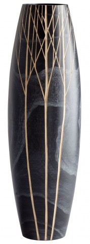 Onyx Winter Medium Vase