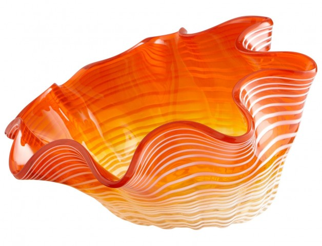 Teacup Party Orange Small Bowl