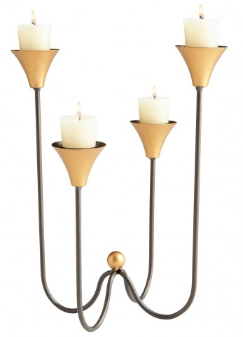 Bell Tower Large Candleholder