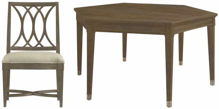 Coastal Living Resort Deck Soledad Promenade Leg Dining Room Set