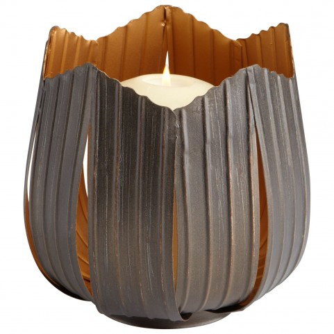 Variegated Flame Medium Candleholder