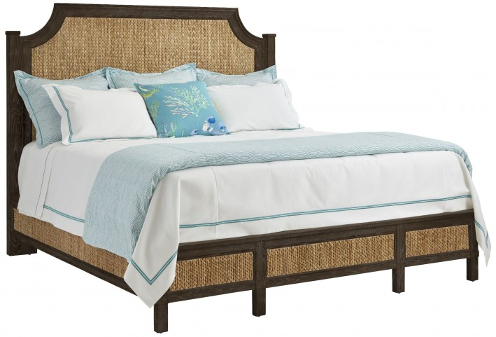 Coastal Living Resort Channel Marker Water Meadow Queen Woven Bed