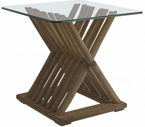 Coastal Living Resort Deck Driftwood Flats End Table