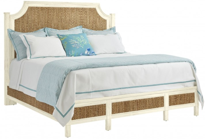 Coastal Living Resort Sailcloth Water Meadow King Woven Bed