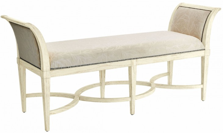 Coastal Living Resort Sail Cloth Surfside Bed End Bench