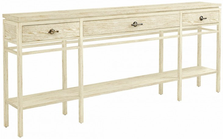 Coastal Living Resort Sail Cloth Palisades Sofa Table