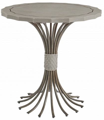 Coastal Living Resort Morning Fog Eddy's Landing Lamp Table