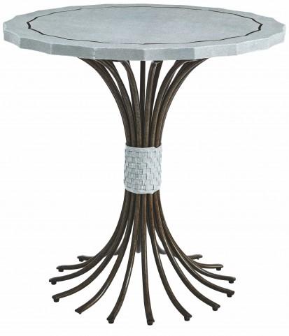 Coastal Living Resort Sea Salt Eddy's Landing Lamp Table