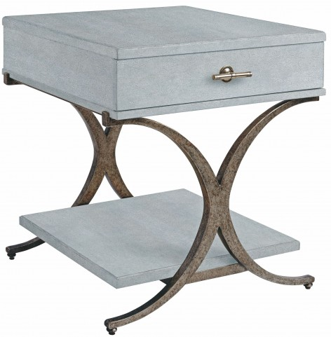 Coastal Living Resort Sea Salt Windward Dune End Table