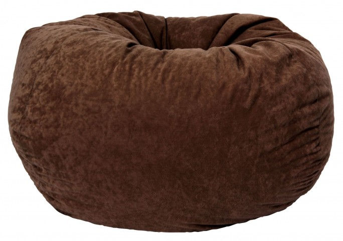 "Big Joe Classic 88"" Espresso Comfort Suede Bean Bag"