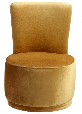 Apostrophe Golden Chair
