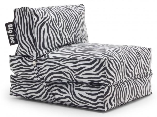 Big Joe Flip Zebra SmartMax Convertible Lounger